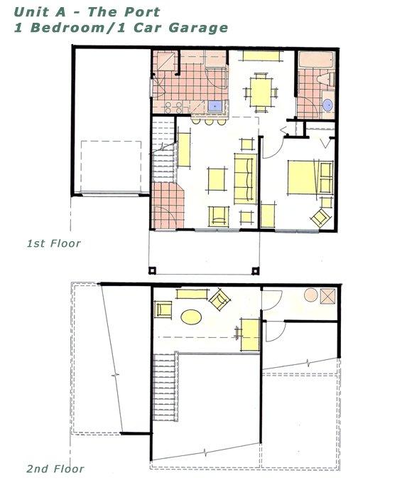 Kopfs Builders Aqua Marine Apartments Floorplans